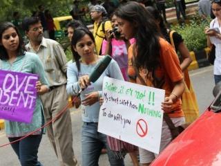 Slutwalk Delhi 2011 - marsz przeciwko przemocy wobec kobiet, Indie