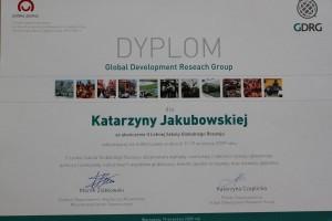 certyfikat GDRG
